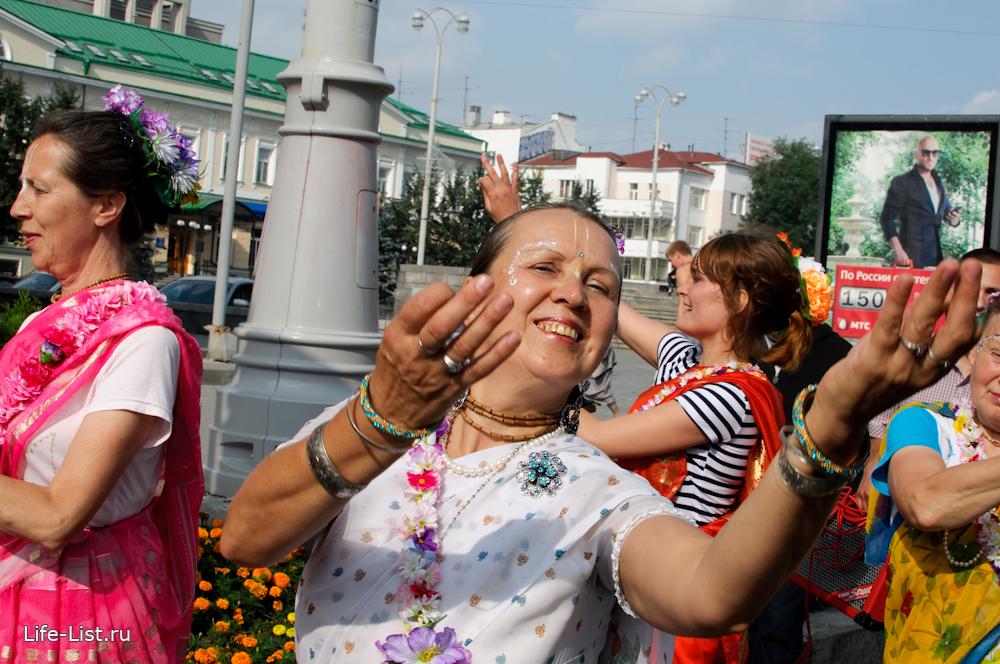 цветастые платья кришнаиты Екатеринбург