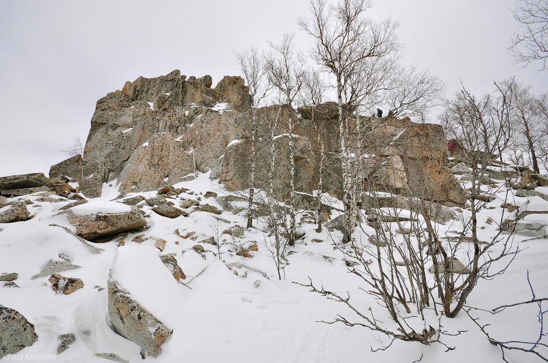 Крутой Ключ гора на южном Урале
