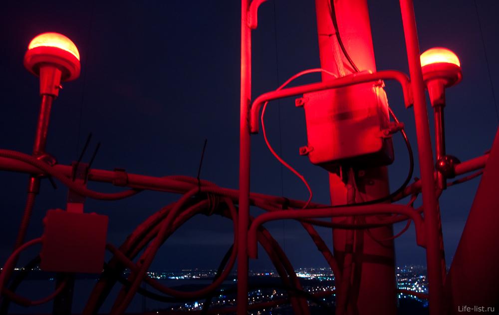 Радиомачта в Екатеринбурге фото Виталий Караван