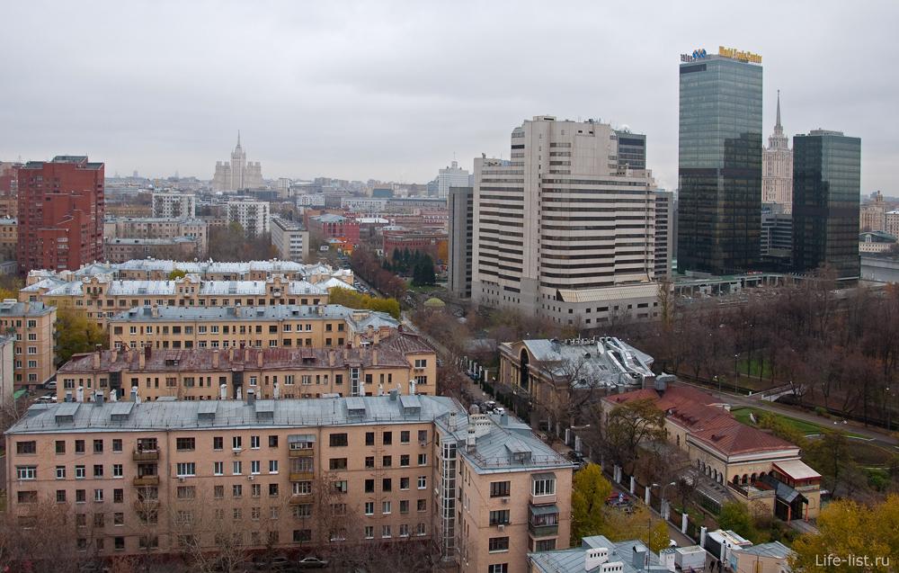 Москва с высоты. Улица Мантулинская