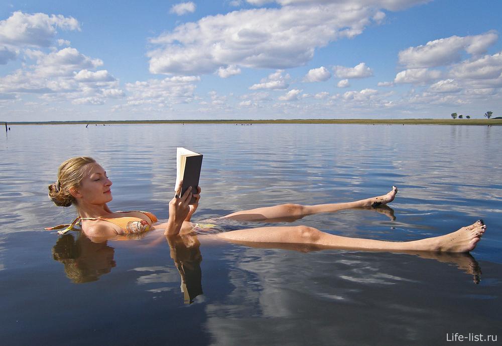 На соленом озере Медвежьем
