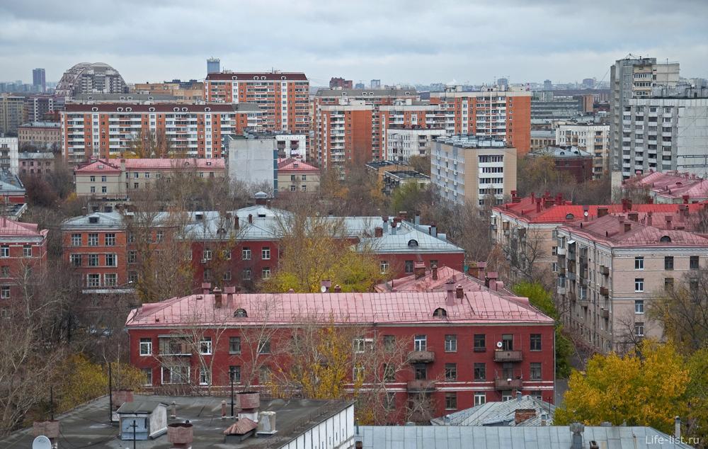 Фото Москвы Крыши. ул. Боровая, Лефортово