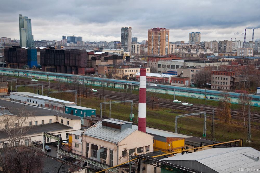 Фото Москвы Железная дорога