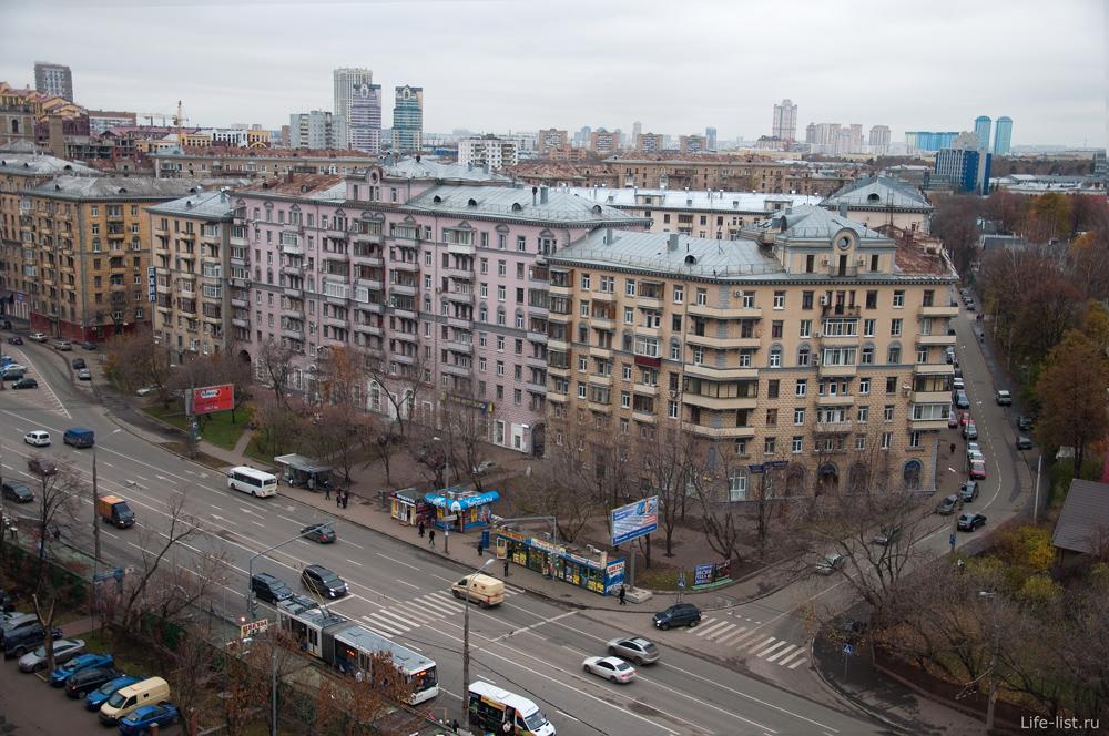 Фото Москвы Улица Алабяна.  Симпатичные высотные сталинки