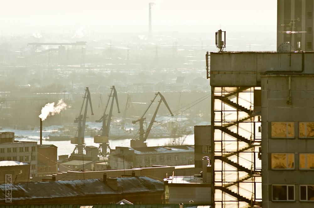 Новосибирск с высоты фото Виталий Караван