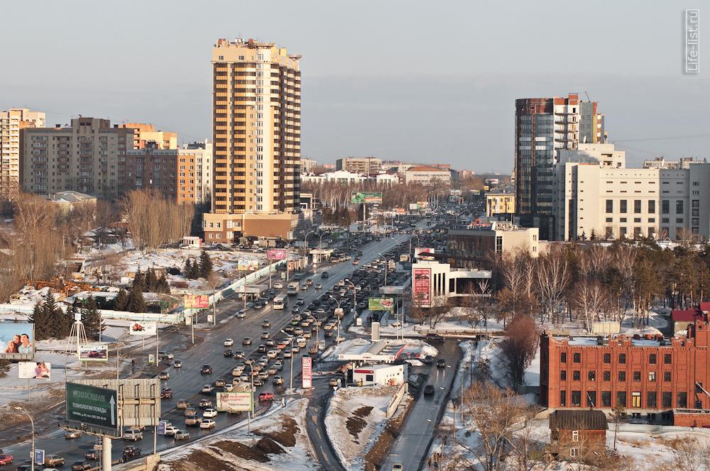 Вид на улицу Кирова Новосибирск фото
