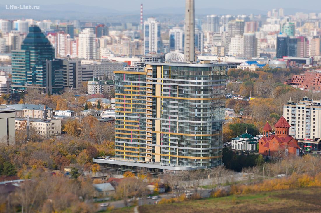 Екатеринбург Апартаменты Огни Екатеринбурга