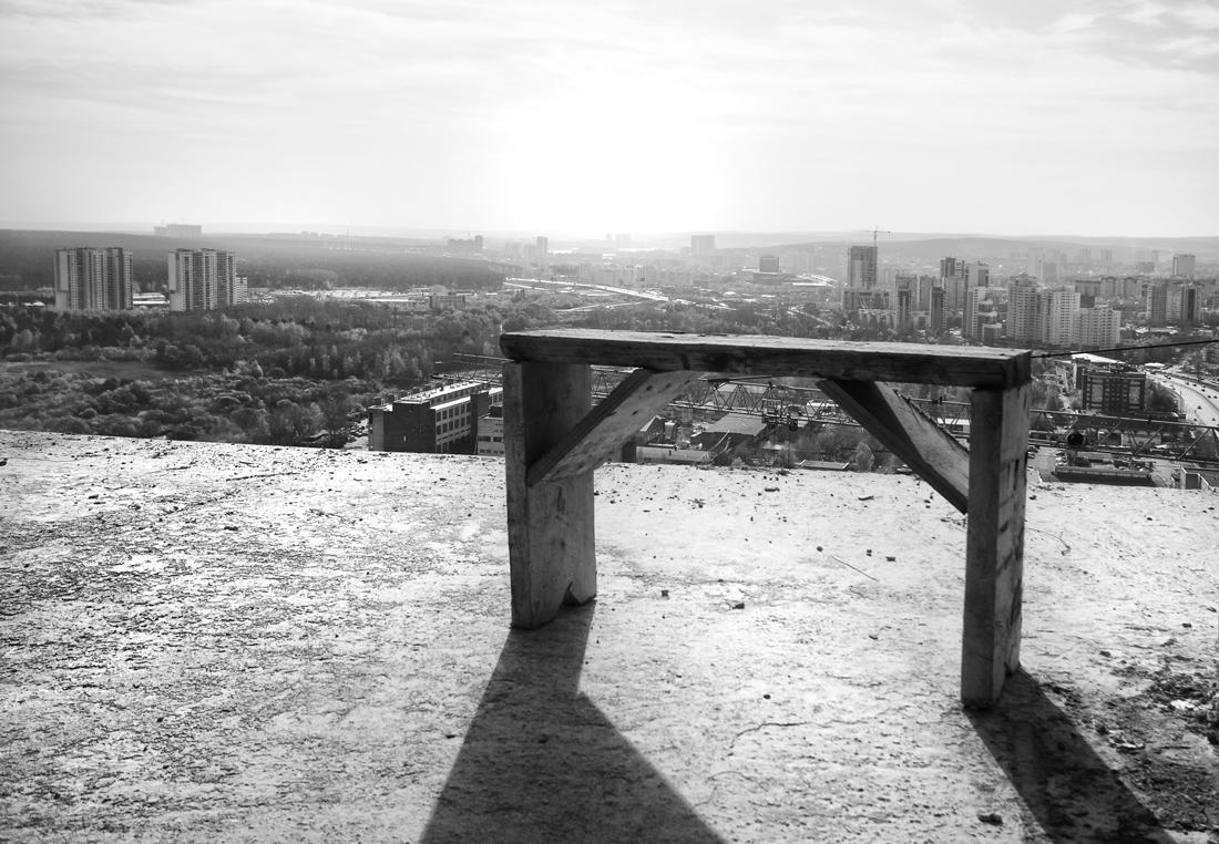 на 35 этаже фотограф Виталий Караван