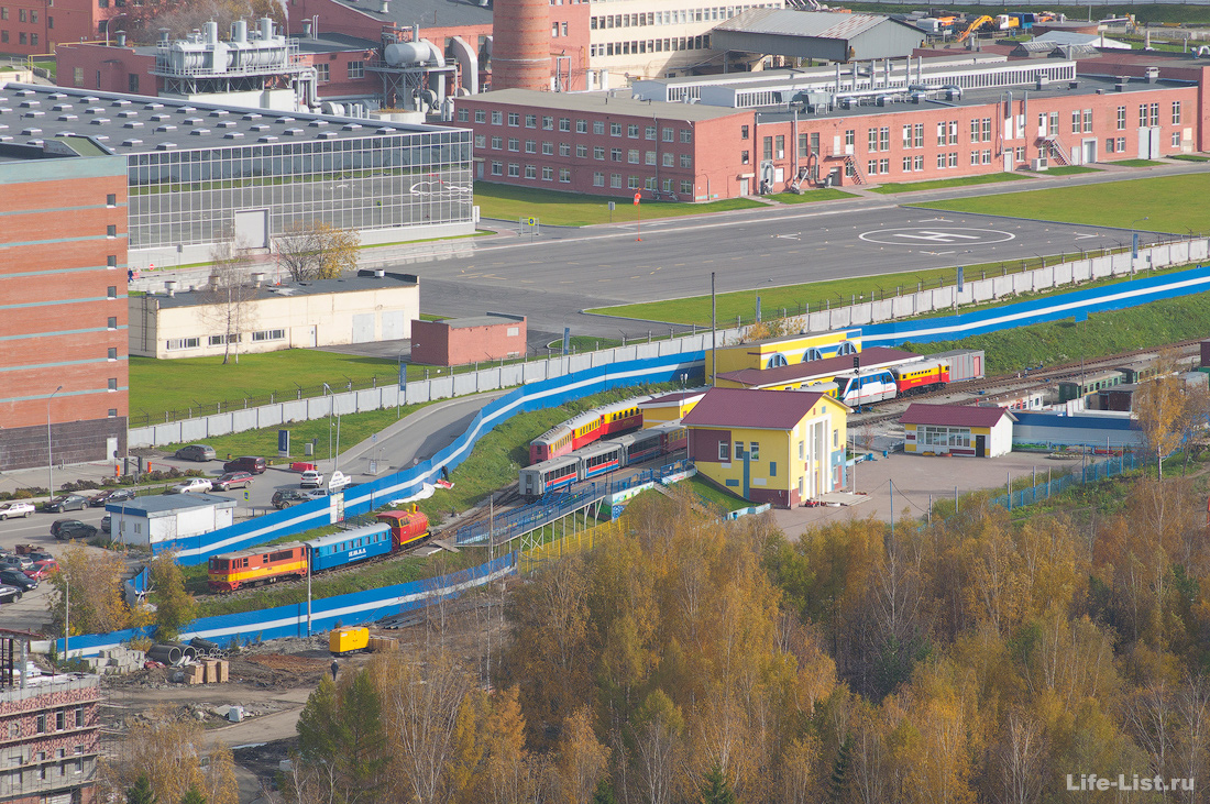 Екатеринбург детская железная дорога