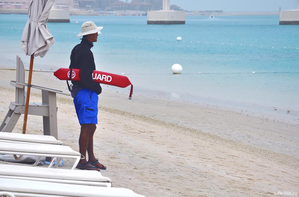 Спасатели в Дубае