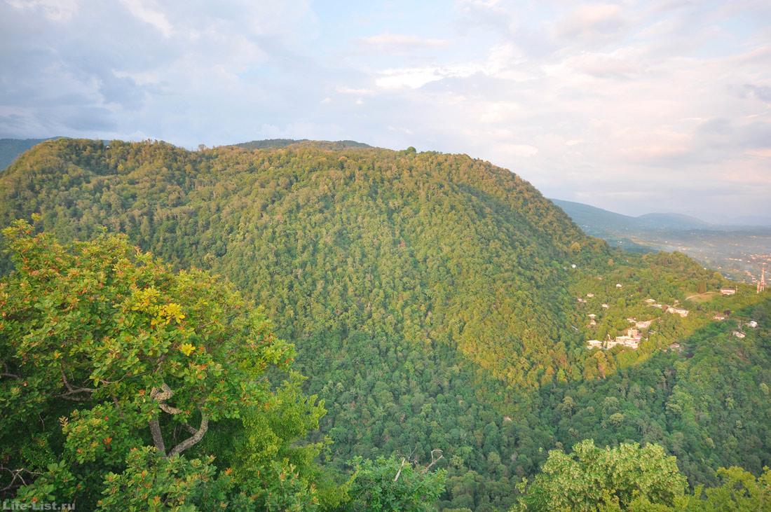 гора Акуи Новый Афон Абхазия