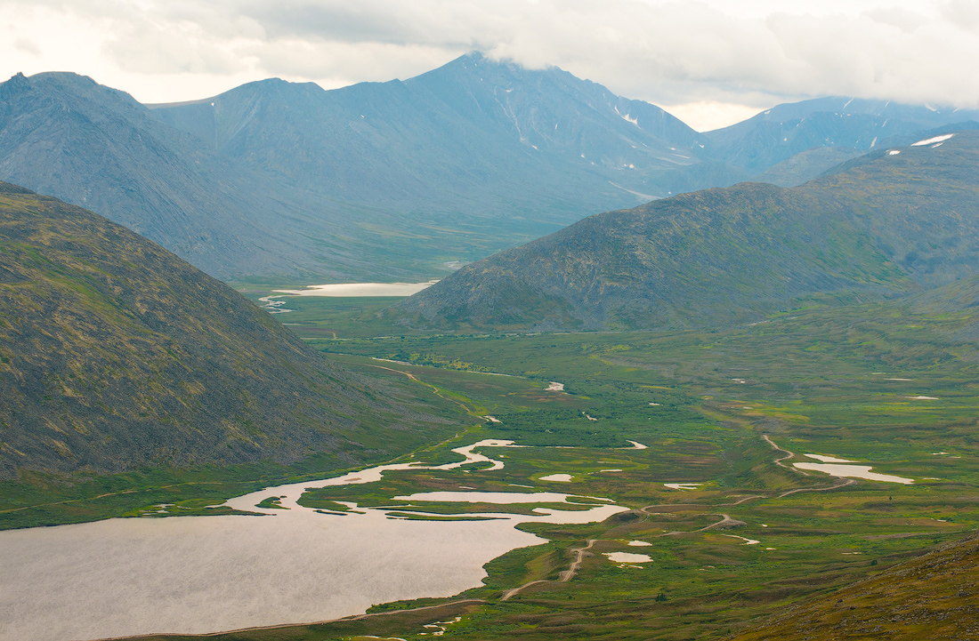 Долина реки Балбанью парк Югыд Ва