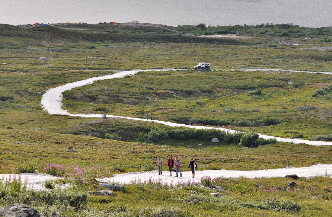 Гора Баркова дорога из кварца