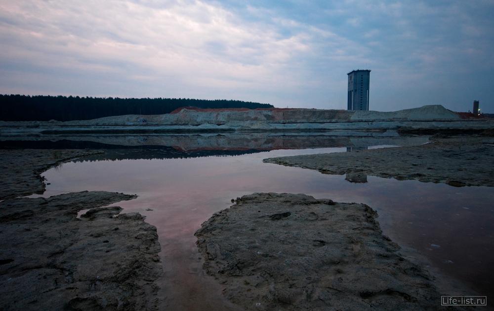 озеро и шаха пески в березовском