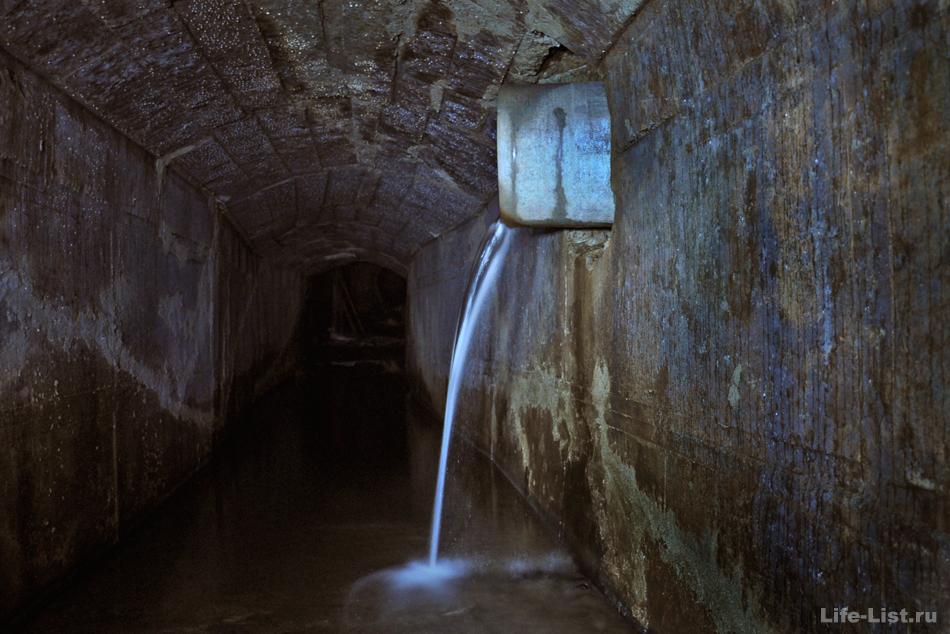 Подземный водопад Екатеринбург
