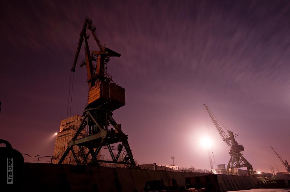 портовые краны фото Новосибирск речной порт