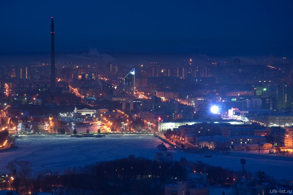 Екатеринбург Городской пруд и Плотинка