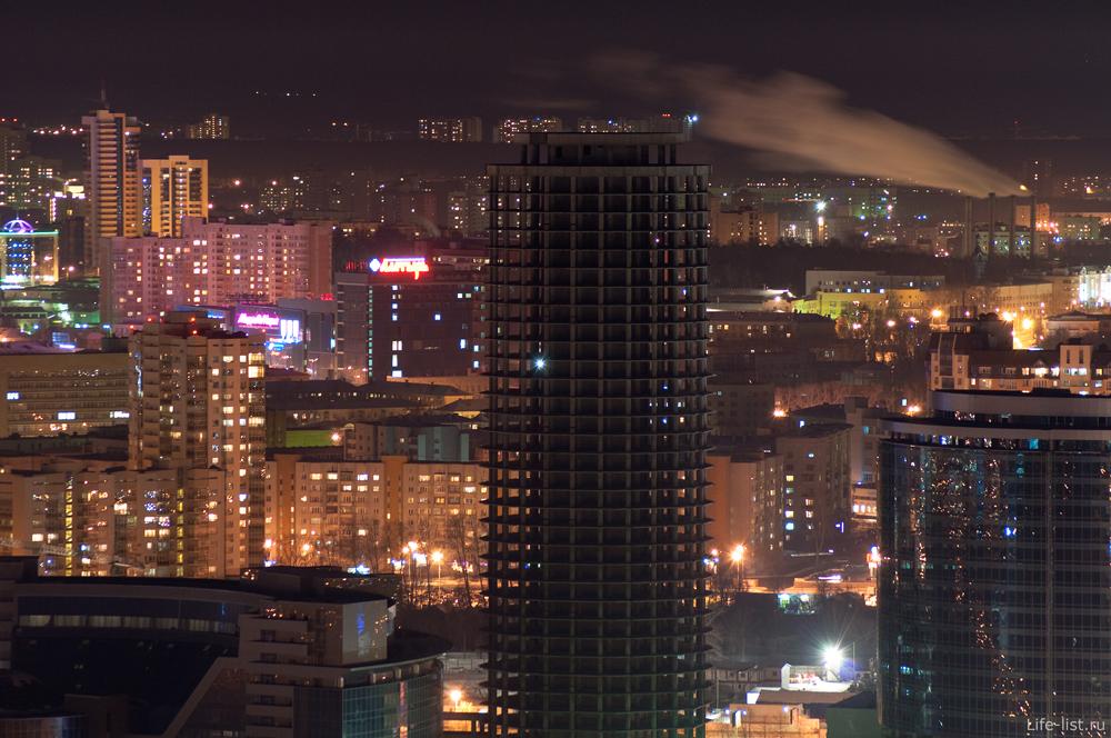 Екатеринбург Строящийся БЦ Демидов