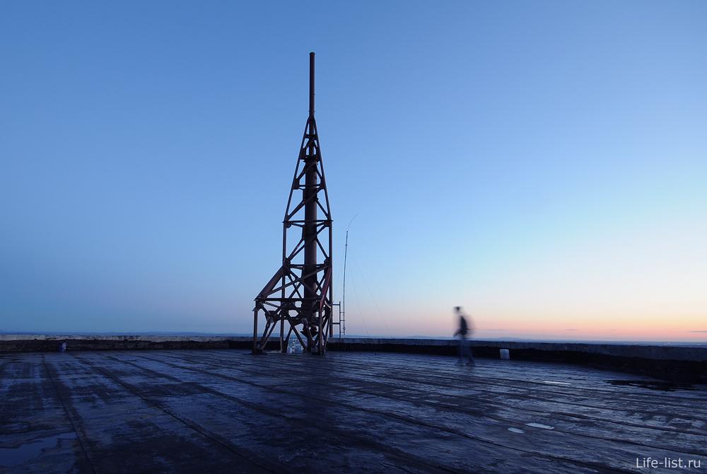 На крыше Призма Екатеринбург