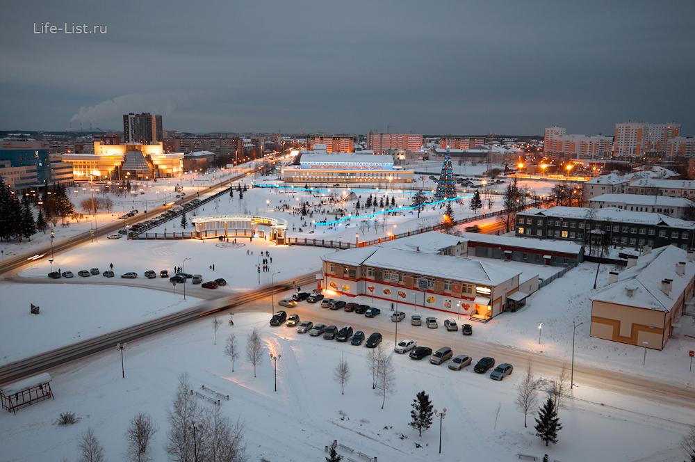 Верхняя Пышма фото с высоты парк фотограф Виталий Караван