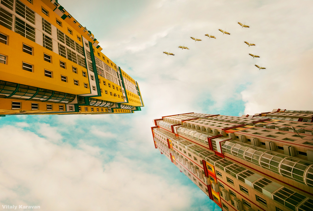 Жилые высотки Екатеринбург фото Виталий Караван
