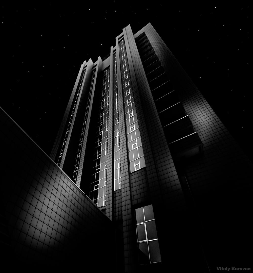 фото здание бизнес центр Газпром Трансгаз Фотограф Виталий Караван