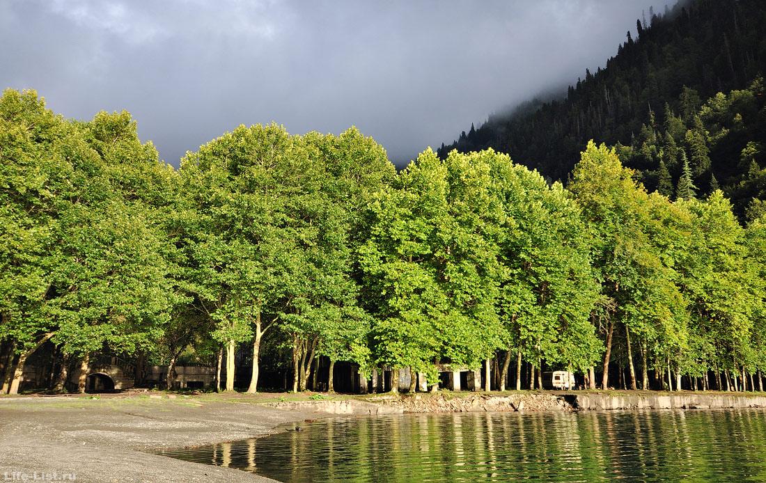 озеро Рица национальный парк Абхазия фото Виталий Караван