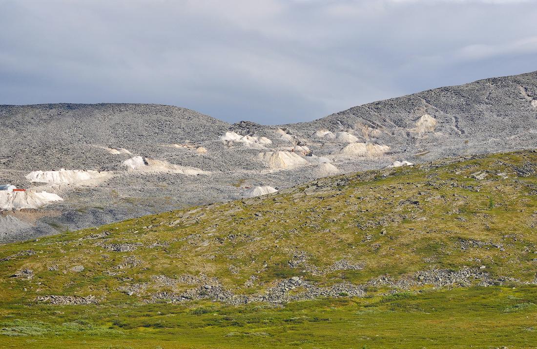 Гора Баркова месторождение кварца