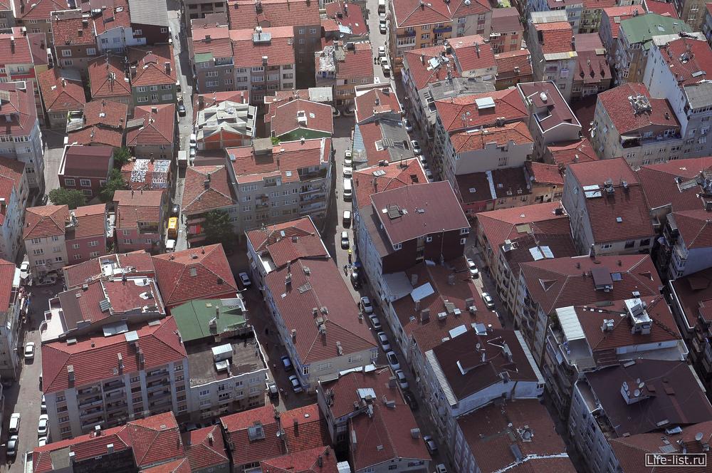 Стамбул с высоты Турция sapphire