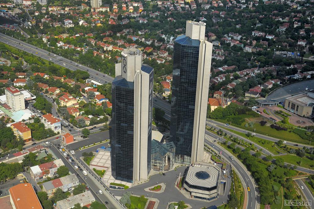 Современные дома Стамбула