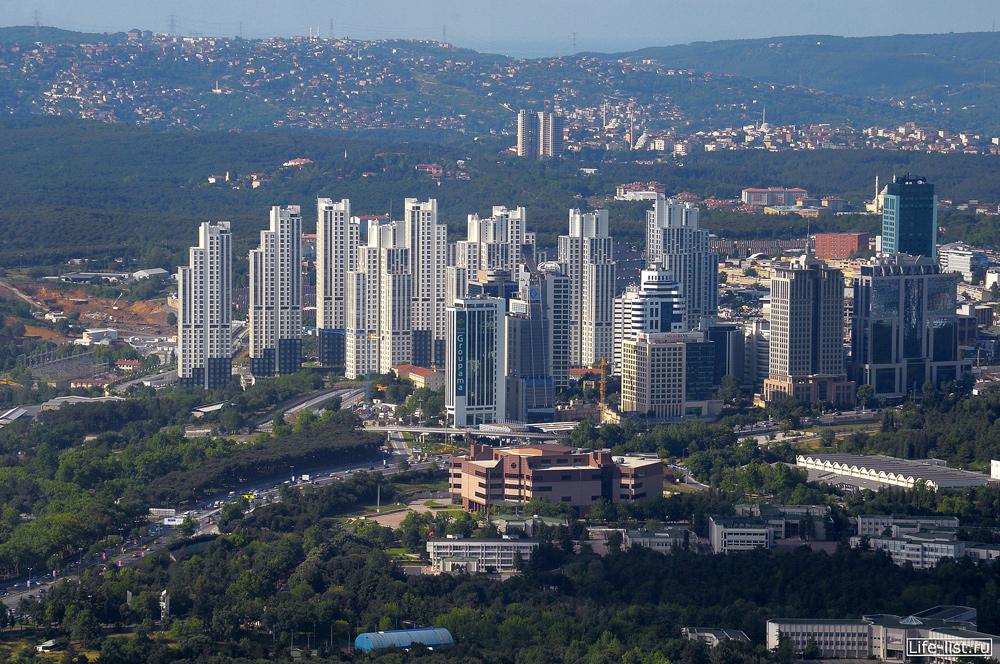 Современный жилой комплекс в Стамбуле
