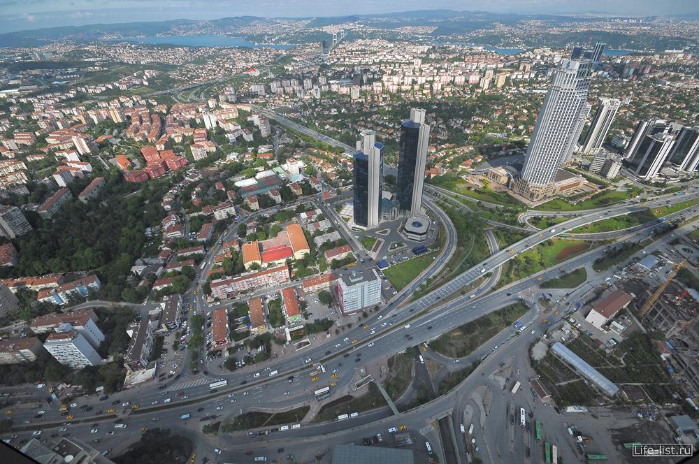 Развязка с высоты Стамбул Турция