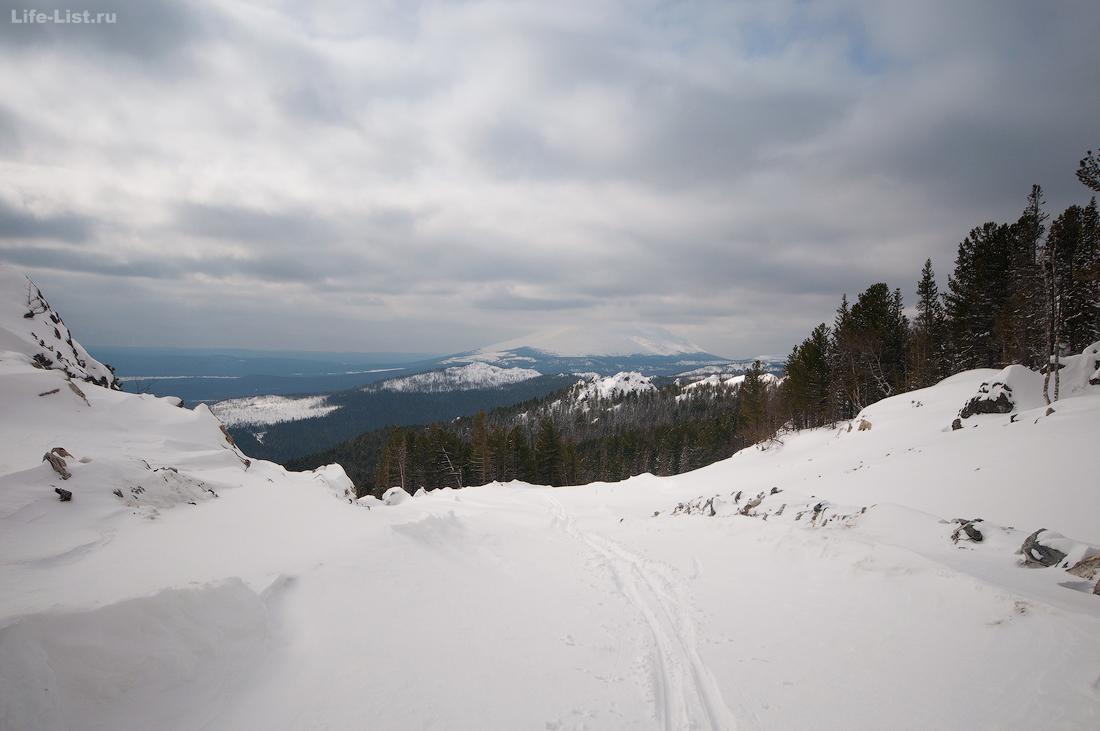 дорога на Иовское месторождение Конжак