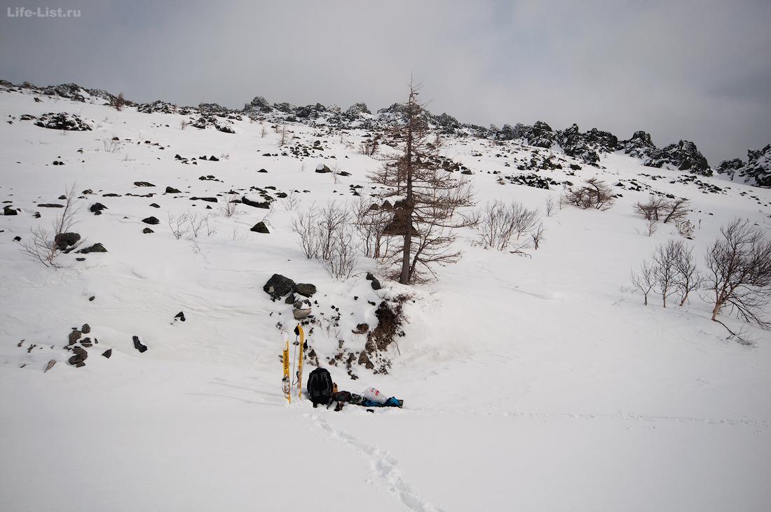 Склон Серебрянского Камня фото