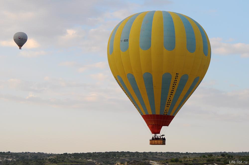 Полет на шаре в турции