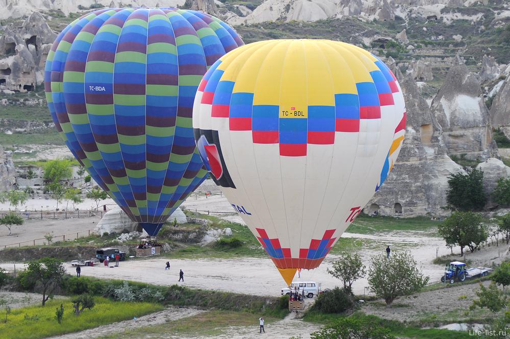 Полет на воздушном шаре в Турции