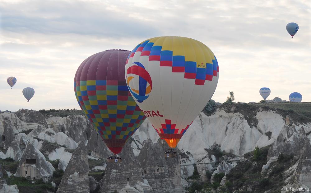 Каппадокия родина воздушных шаров