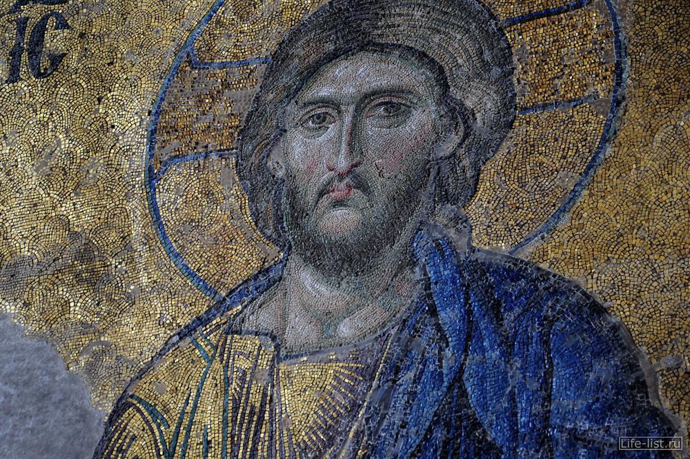 Мозаичные фрески в Софийском соборе