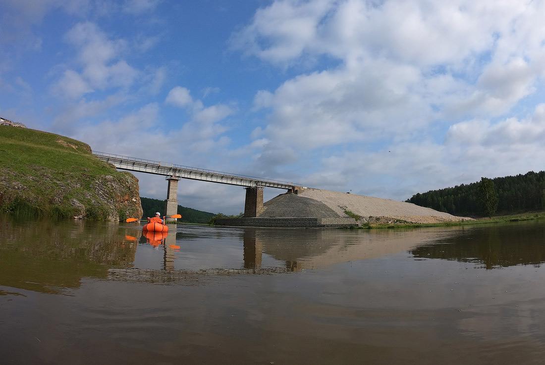 сплав по реке Серга на пакрафте black pike classic