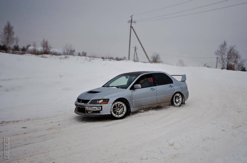 зимний заезд спринт авто 2013 год Березовский