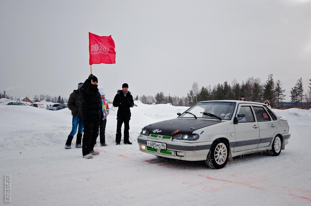 на старте флаг зимний спринт 2013 закрытие сезона Березовский