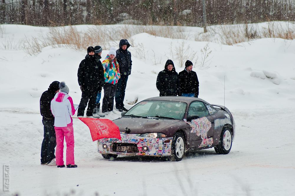 на старте зимний спринт экстрим в Березовском 2013