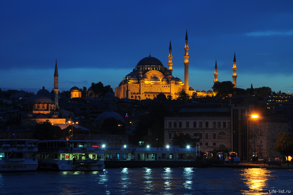 мечеть сулеймание Стамбул