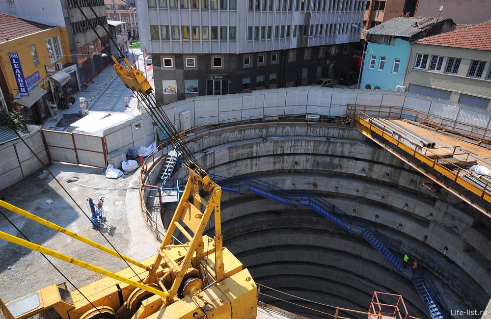 Строительство тоннеля через Босфор