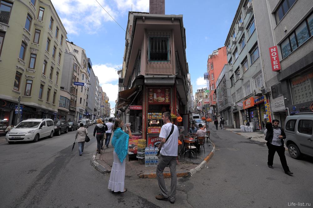 Улицы Тюнель Стамбул