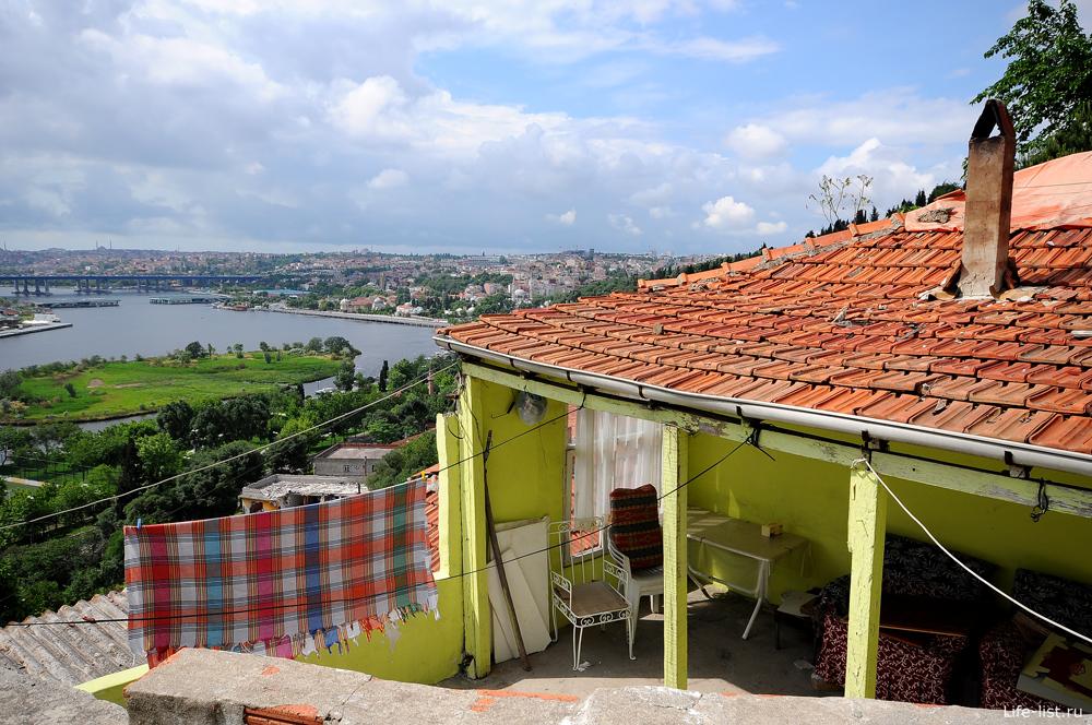 Мансарда с видом на Стамбул