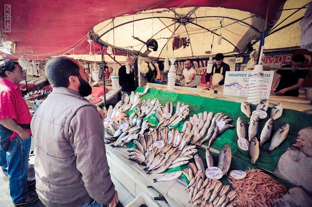 рыбный рынок в Стамбуле рыба фотографии