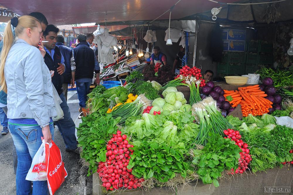 лоток овощей Турция стамбул