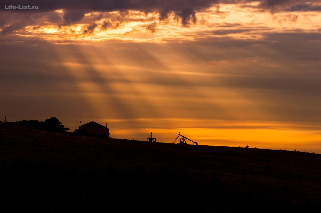 Метеогорка Южный Урал Красивые фото Дальний Таганай