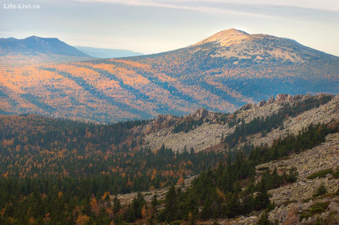Гора Круглица с Волчьего Гребня Южный Урал Красивые фото Таганай